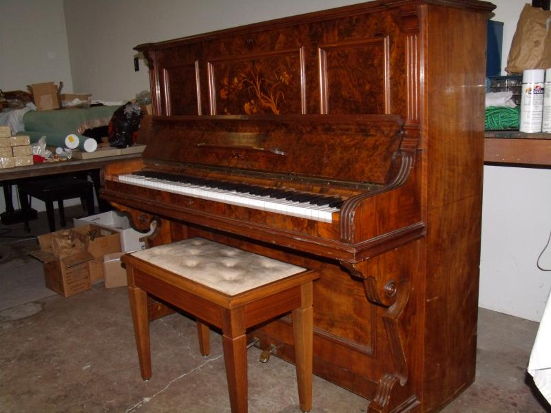 Typical European Victorian Upright